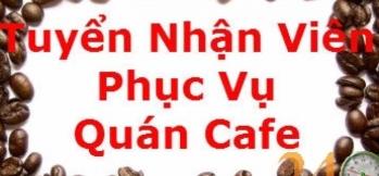 tuyển nhân viên bán cafe